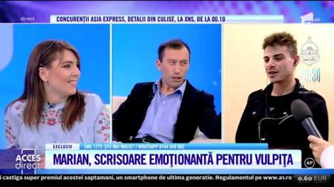 Marian Neculiţă, scrisoare emoționantă pentru Vulpița