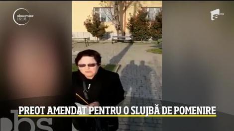 Un preot din Râmnicu Vâlcea a primit o amendă de 20.000 de lei