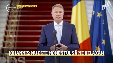 Președintele Klaus Iohannis prelungește starea de urgență cu încă o lună