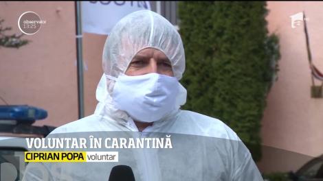 După ce a stat 14 zile într-un centru de carantină din Bușteni, un bărbat din Ploiești și-a dorit să rămână voluntar