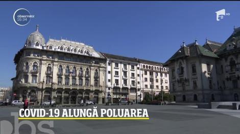 Covid-19 a crescut calitatea aerului în marile orașe din România