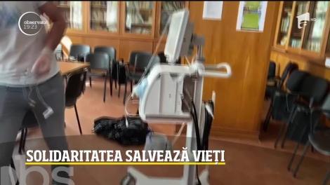 Fundația Mereu Aproape a reuşit instalarea unui aparat vital pentru bebeluşii infectaţi de covid la maternitatea Polizu