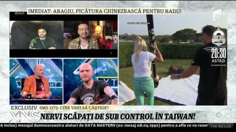 """Abagiu şi Radu Vlăduţ, despre nervii scăpaţi de sub control! """"După ce am ajuns în Taiwan, atitudinea lui Alex s-a schimbat"""""""