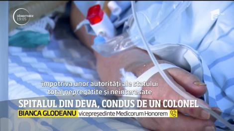 Spitalul din Deva a fost militarizat. Un colonel a preluat comanda unităţii medicale