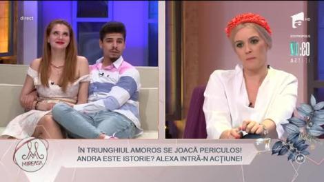 """""""Juan"""" Armando Rădulescu și-a găsit nasul? Alexa Trăilă pune piciorul în prag!"""