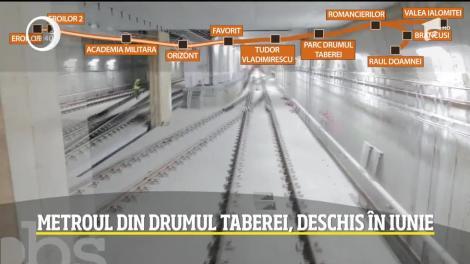 Locuitorii din Drumul Taberei ar putea ieşi din pandemie... cu metroul!