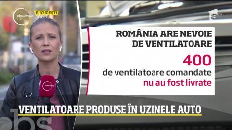 Veste excelentă pentru România, în ziua cu cele mai multe decese cauzate de coronavirus! Uzinele Dacia din Mioveni, ajutor nesperat pentru bolnavii de COVID-19