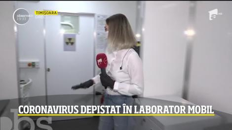 Laborator mobil pentru depistarea infecției cu COVID 19