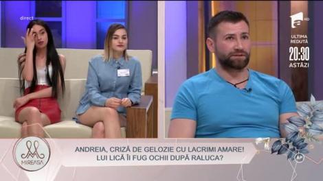 Andreia Matei, criză de gelozie cu lacrimi amare! Lui Vasile Turnău (Lică) îi fug ochii după Raluca Purice!