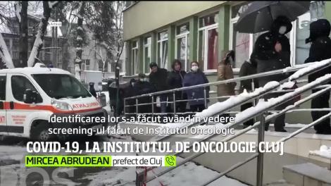 Institutul Oncologic din Cluj-Napoca s-a transformat într-un focar de COVID-19
