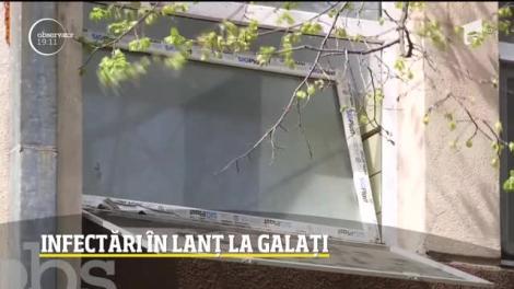 Infectări în lanț la Galați și Focșani. Medicii, asistenții și pacineții luptă la limită cu coronavirusul