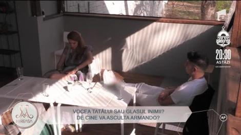 """Dezvăluirile lui Viorel, tatăl lui Armando Rădulescu, au dezlănțuit iadul în casă Mireasa! Concurentul, supărat foc pe Andra: """"Ar fi trebuit să fi fost sinceră!"""""""