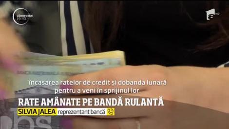 150 de mii de români au cerut amânarea ratelor