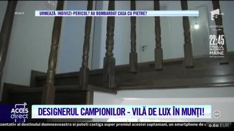 Designerul care a îmbrăcat-o pe Nadia Comăneci și-a arătat casa! Ce ține Dana Tănase în salon