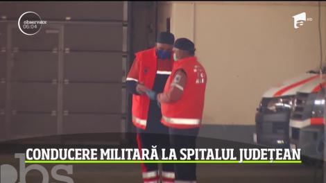 Spitalul Judeţean Sf. Pantelimon din Focşani a intrat sub comandă militară
