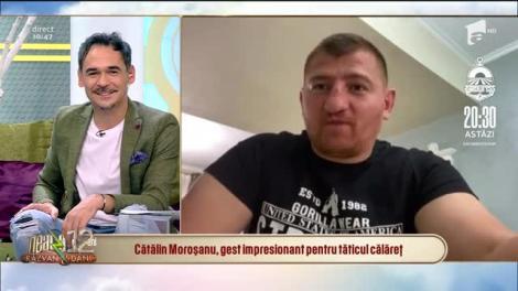 """Cătălin Moroșanu, eroul tânărului care a mers călare la maternitate, în ciuda restricțiilor de circulație: """"Când am văzut cum trăiește, am zis să îl ajut să își ia o casă!"""""""