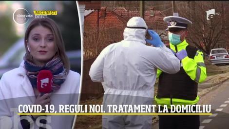 Tratament la domiciliu. Reguli noi pentru cei care sosesc în România din zonele roşii afectate de COVID-19