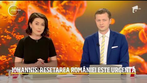 Klaus Iohannis, declarații de la Cotroceni: Resetarea României este urgentă