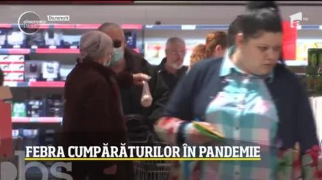 În Joia Mare, românii au uitat de pandemie. Aglomerație mare în pieţe şi magazine