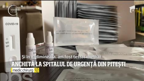 Anchetă la Spitalul Judeţean de Urgenţă din Argeş după ce un medic chirurg a fost depistat pozitiv cu COVID-19