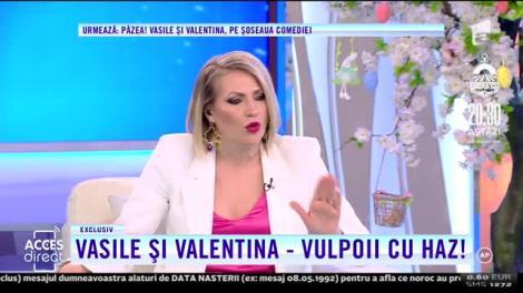 """Viorel Stegaru, bătut de Vulpița, în direct! I-a dat scatoalcă după scatoalcă! Soții Stegaru, parodiați de Valentina Fătu și Vasile Muraru! """"Când văd bărbați frumoși, imediat uit di el"""" - VDEO"""