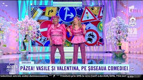 Păzea! Vasile Muraru și Valentina Fătu, pe șoseaua comediei