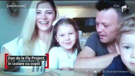 """Dan de la Fly Project, în izolare cu copiii. Cum au petrecut de sărbători? """"De Înviere am făcut o conferință video"""""""