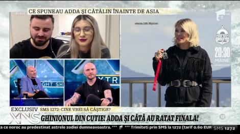 """Adda și Cătălin, declarații după părăsirea competiței """"Asia Express"""": """"Încă de la plecare am spus că nu vrem să ieşim pe locul trei"""""""