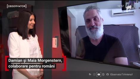 """Damian Drăghici și Maia Morgenstern au lansat melodia """"Pentru Români"""""""