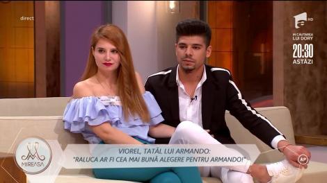 """Tatăl lui Armando Rădulescu, cuvinte dure la adresa Andrei: """"Voi face orice ca această relație să nu înainteze!"""""""