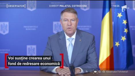 Klaus Iohannis vine cu noi lămuriri: Avem peste zece mii de infectări