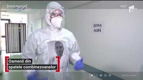 Medicii din Timișoara și-au printat fotografii pe costumele de protecţie