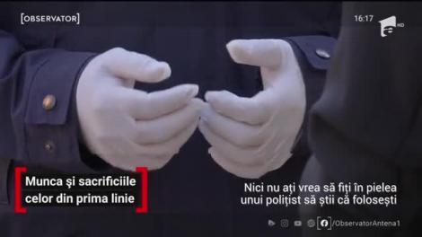 Doi tineri poliţişti din Târgu Jiu, soţ şi soţie, pleacă cu rândul în misiune pentru ca fiica lor să nu rămână singură