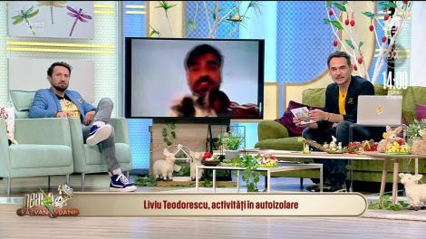 Cum își petrece timpul în izolare Liviu Teodorescu! Artistul ține legătura cu fanii săi și le cântă online