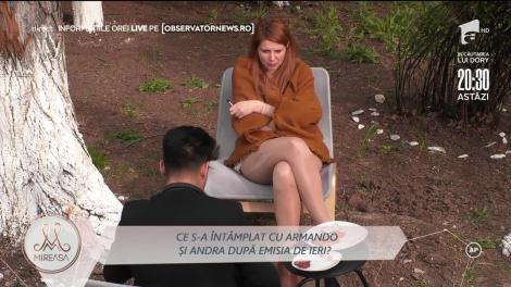 Momente de sinceritate între Armando Rădulescu și Andra Nicolin! Ce se întâmplă cu adevărat între cei doi tineri!