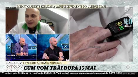 """Cum vom trăi după15 mai? Adrian Marinescu: """"Există posibilitatea să avem un nou vârf dacă nu vom respecta regulile de distanţare socială"""""""