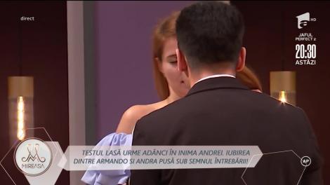 Andra Nicolin, devastată de testul lui Armando Rădulescu!