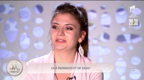 Vasile Turnău (Lică) este îndrăgostit de Iulia Șapcaliu?
