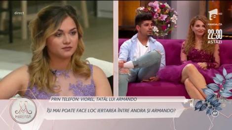 """Viorel, tatăl lui Armando: """"Cred că Andra ar putea câştiga premiu pentru actorie"""""""