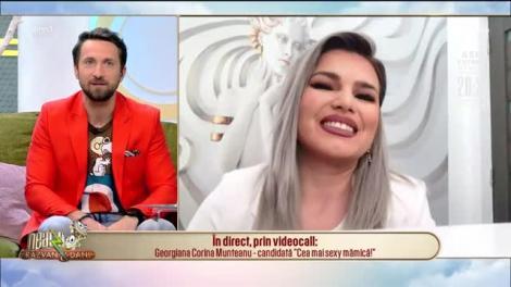 """Neatza cu Răzvan și Dani caută """"Cea mai sexy mămică"""": Georgiana Corina Munteanu, candidata de astăzi!"""