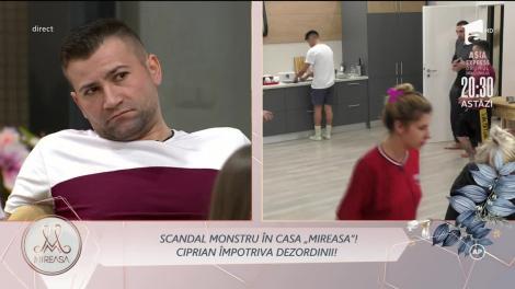 """Scandal monstru în casa Mireasa! Ciprian nu s-a mai abținut și au ieșit scântei: """"Ești nebun?!"""""""