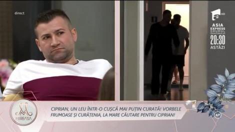 Vasile Turnău (Lică), deranjat de agresivitatea lui Ciprian Vlad