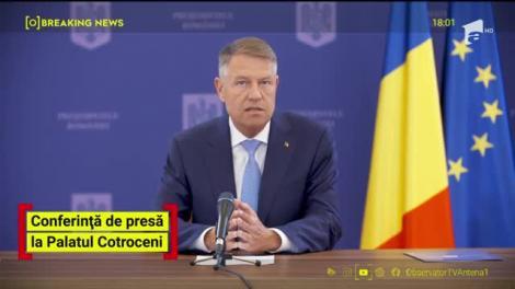 Observator Update, 28 aprilie, ora 18:00: Klaus Iohannis, conferință de presă