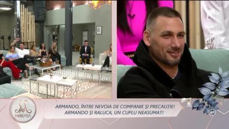 Armando Rădulescu și Raluca Purice, un cuplu neasumat!