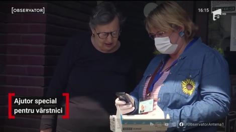 Ajutor special pentru vârstnici pe timp de pandemie