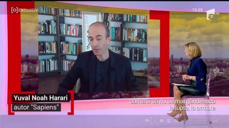 """Cum va arăta omenirea după pandemie: """"O schimbare pozitivă pentru umanitate"""" - Interviu în exclusivitate cu Yuval Noah Harari"""