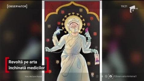 """BOR, iritată de campania """"Medicii-sfinți"""". Ce spun liderii Bisericii Ortodoxe despre afișele ce au împânzit orașele: """"O maltratare vizuală"""""""