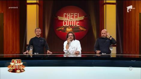 Ies scântei în bucătăria Titani la cuțite! Nouă bucătari celebri s-au dezlănțuit, pregătind capodopere culinare