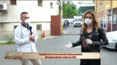 Românii sunt tot mai relaxați în plină pandemie. Mesajul medicilor înainte de 1 Mai