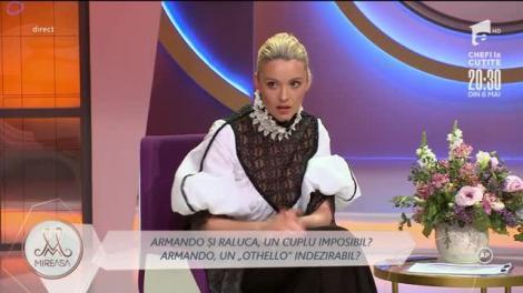 Raluca Purice, între sfaturile mamei și sentimentele pentru Armando Rădulescu!
